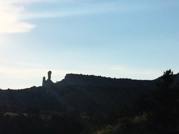 Chimney Rock, Ghost Ranch, New Mexico, June 2015