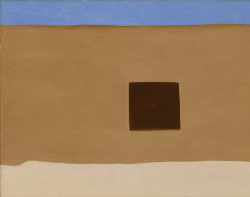 In the Patio III, 1948, Georgia O'Keeffe Museum Collection