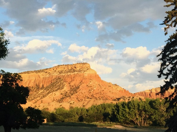 Kitchen mesa, Ghost Ranch, New Mexico, June 2015