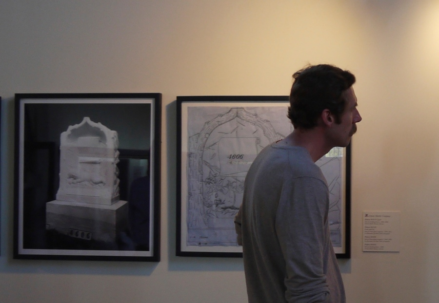 Patterns (ink on drafting linen) and photographs in collaboration with Brian Miller