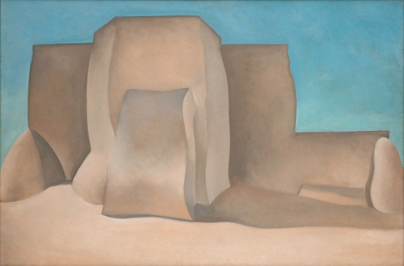 Georgia O'Keeffe, Ranchos Church, Taos, 1929, The Phillips Collection